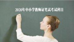 2020年中小学教师证笔